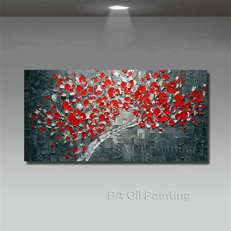 modern abstract canvas wall lucky tree modern abstract painting wall pictures for