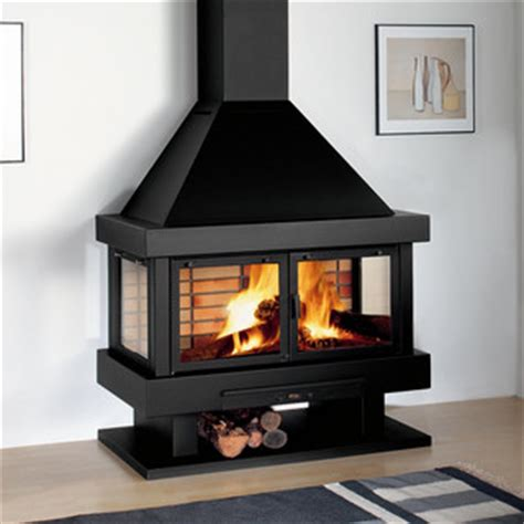 Indoor Stove Fireplace Rocal Barbara 120 Wood Burning Stove Contemporary