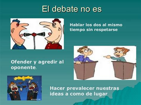 imagenes de debates escolares el debate