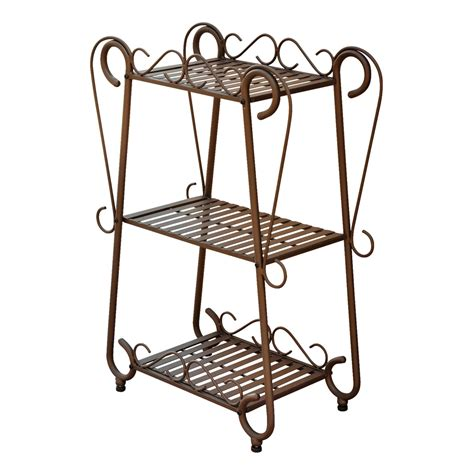 Wrought Iron Planter Stands by Shop International Caravan Santa Fe 31 In Outdoor