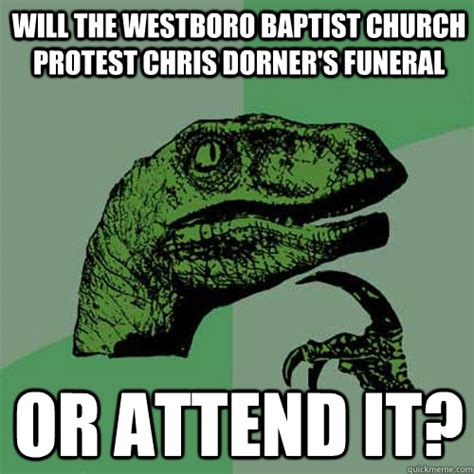 Dorner Meme - will the westboro baptist church protest chris dorner s