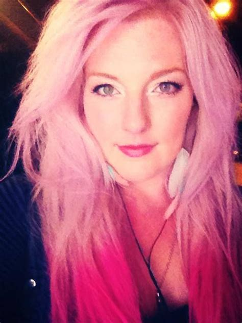 1000 images about hair colors on pinterest splat hair ombre effect done with splat hair chalk in dusty rose and