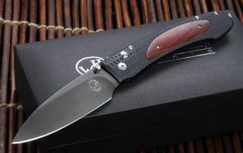edc folding knife william henry edc e10 1 cocobolo inlay folding knife