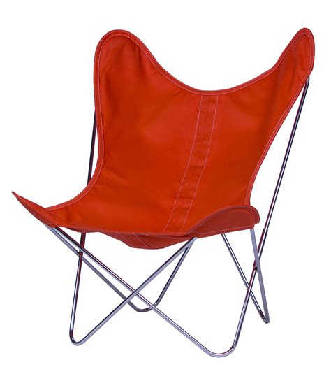 butterfly armchair aa butterfly armchair cloth chromed structure chromed