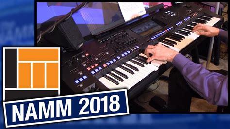 Keyboard Yamaha Tahun 2018 L M Namm 2018 Yamaha Genos Arranger Workstation