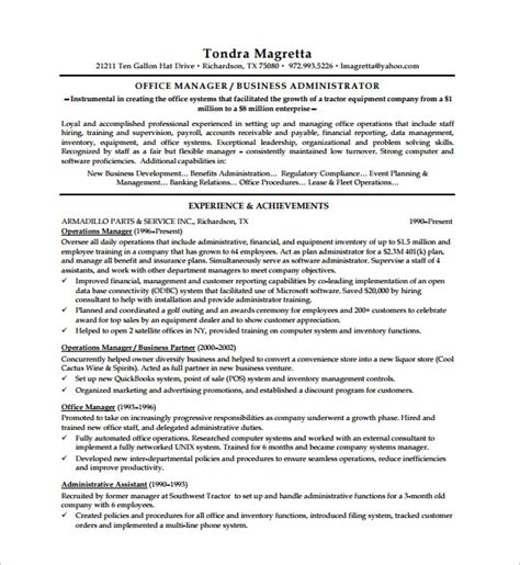 sales executive resume format pdf executive resume template 11 free word excel pdf