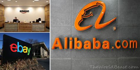 amazon vs alibaba amazon vs ebay vs alibaba the world beast