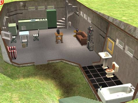 Helicopter Chair Mod The Sims Just A Little Bunker House