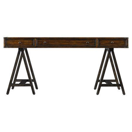 sawhorse desk with drawers pin by sunny nagel on apt ideas pinterest