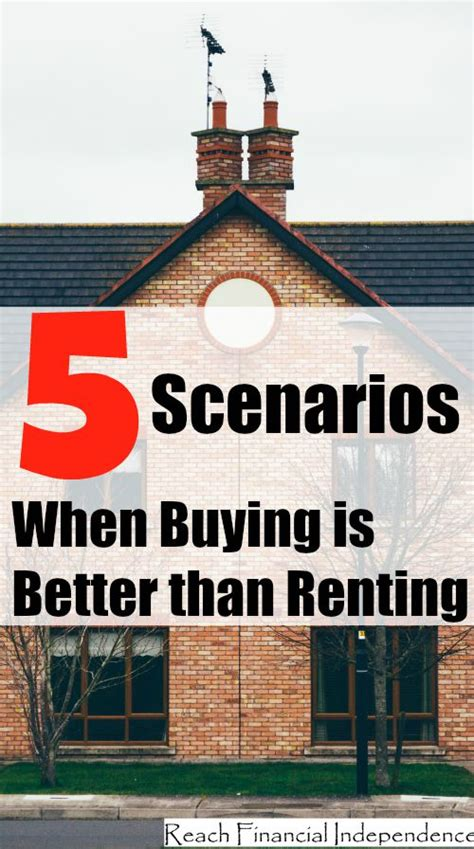 which is better renting or buying a house 5 scenarios when buying is better than renting the savvy