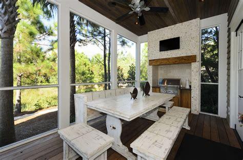 sunroom kitchen cottage deck patio rice construction