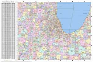 Chicago Zipcode Map by Search The Maptechnica Printable Map Catalog Maptechnica