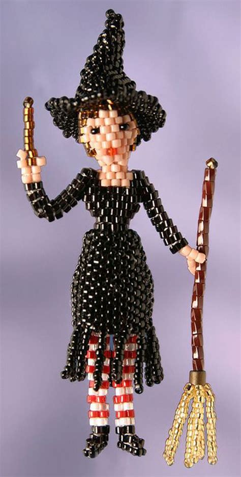 3d beaded witch dolls doll patterns and witches on