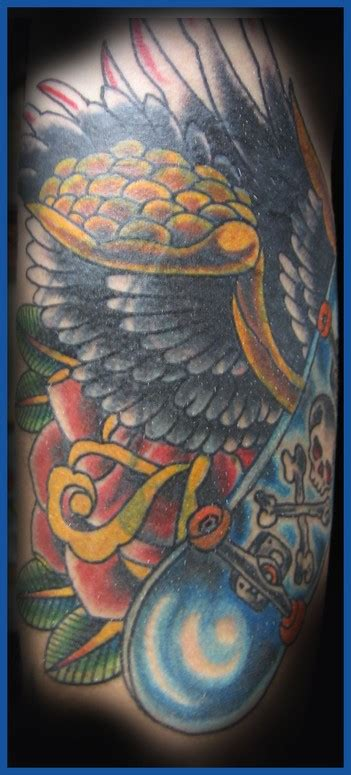 tattoo gallery north olmsted ohio skate or die by joshua david tattoonow