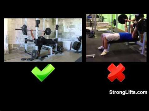 bench press the exercise guide from stronglifts