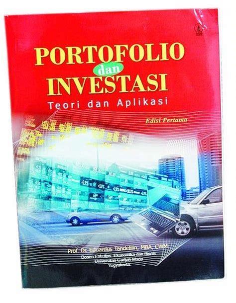 Analisis Investasi Dan Aplikasi Dlm Aset Keuangan Aset Riil cabik lunik pustakaloka buku ekonomi portofolio dan