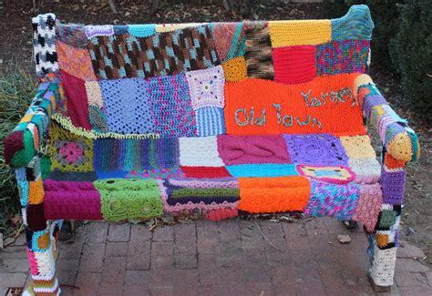 knit bombing fineartstudent21 ba honours year three