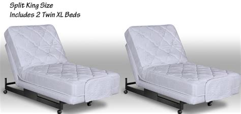 how to create a king bed from twin beds home guides sf adjustable split king beds 2 twin extra long size beds