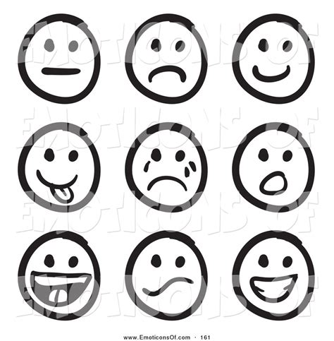 clipart emotions feelings faces clipart