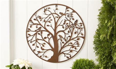 outdoor home wall decor wolfs blooms and berries outdoor wall decor