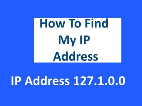 Search My Ip Address How To Find My Ip Address On Windows 7 And Windows 10