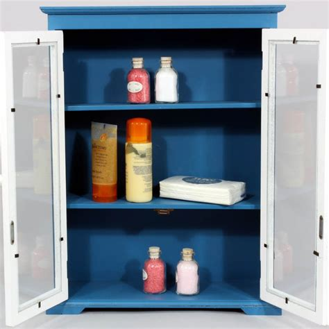 blue bathroom cabinets retro bathroom cabinet blue