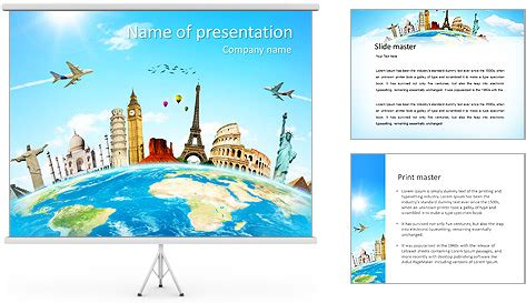 Powerpoint Travel Templates Travel Ppt Template Tourism Powerpoint Template Free Powerpoint Tourism Powerpoint Template