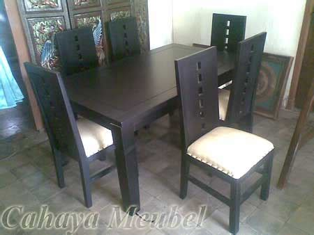 Kursi Kayu Jati Asli meja makan 6 kursi minimalis modern kayu jati asli meja makan minimalis kayu jati murah