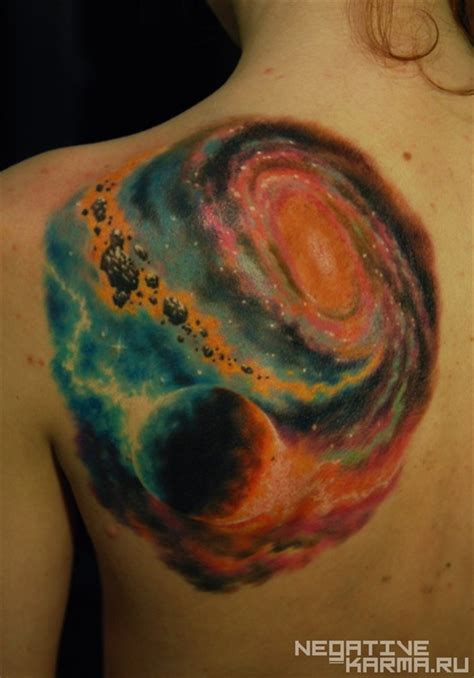 space themed tattoo black space tattoos from outer space