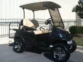 Golf Carts Classic Black Lifted Club Car Precedent Golf Cart King