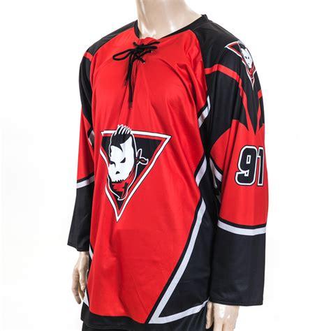 Costum One Fullprint custom sublimation printing unique international hockey jerseys custom made hockey