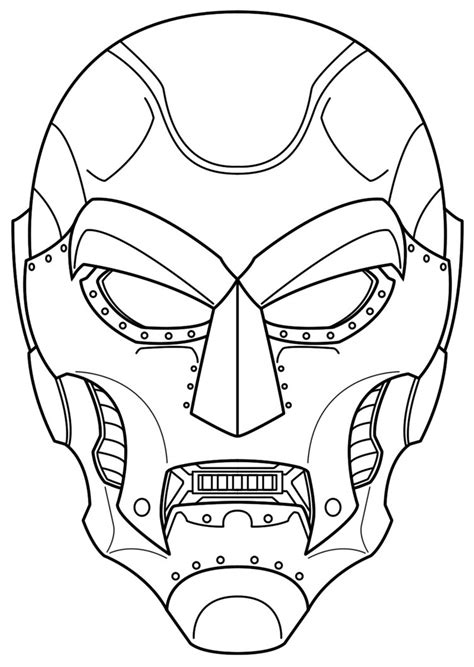 Topi Snapback The Doctors dr doom mask concept by balsavor on deviantart