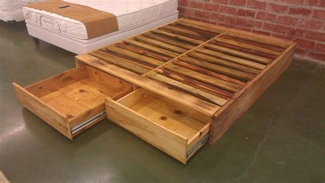 Wood Pallet Bed Frame Diy Pallet Wood Bed Frame Ideas Pallet Bed Frames Pallet Beds And Bed Pallets