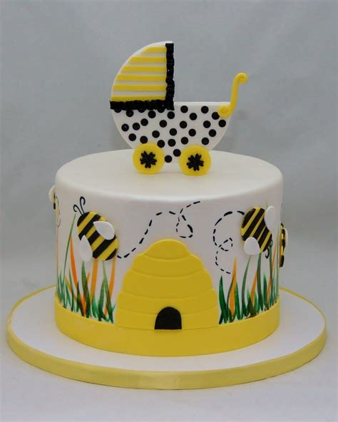 bumble bee cakes for baby shower gallery baby shower cakes cupcakes cake in cup ny