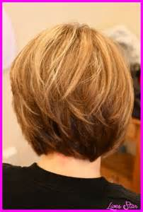 medium hair stacked in back short haircuts with stacked back hairstyles fashion