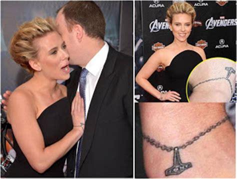 ink tattoos scarlett johansson wrist tattoo