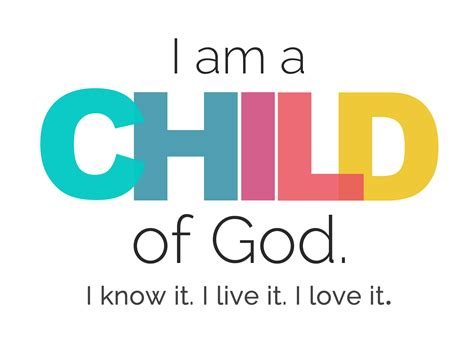 child of god quot i am a child of god quot free printable it s always autumn