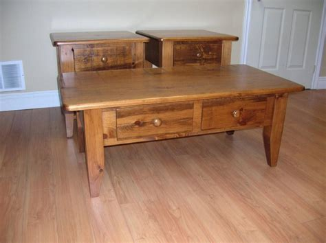 Rustic End Tables And Coffee Tables Rustic Pine End Table Coffee Table Design Ideas