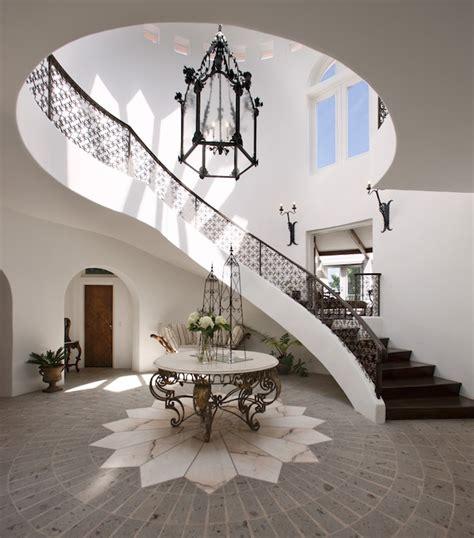 2 Story Foyer Lighting by 2 Story Foyer Mediterranean Entrance Foyer