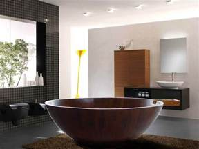 Free Standing Spa Bathtubs 20 Bathrooms With Beautiful Round Tubs