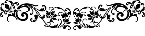 Wrought Iron Curtain Rings Scroll Patterns Images Clipart Best
