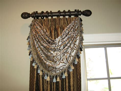 decorative curtains nickel and bronze decorative curtain rods