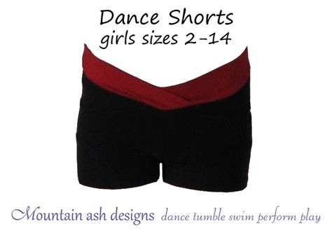 dance tutorial pdf gymnastics and dance shorts 2 pdf sewing pattern girls