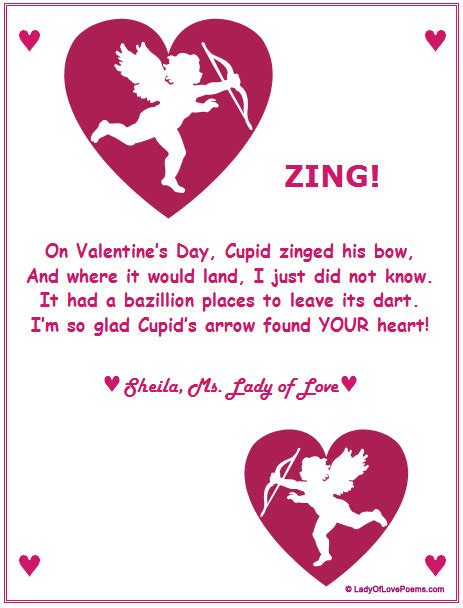 valentines day poems ideas for boys poems