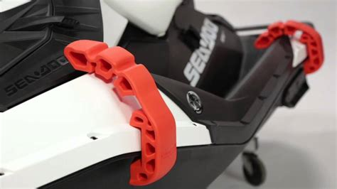 waterscooter accessoires sea doo snap in fenders youtube