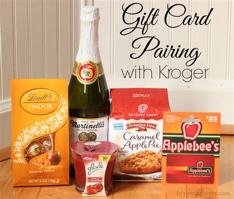 Unique Gift Cards - creative gift card pairing with kroger erin spain