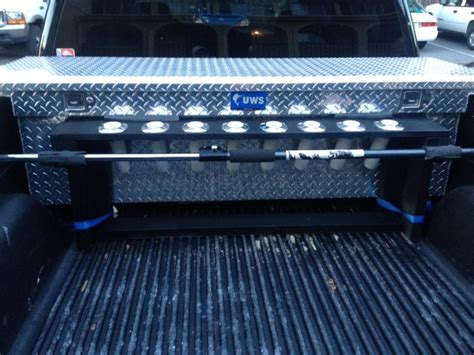 rod holder for truck bed truck bed rod holder the hull truth boating and