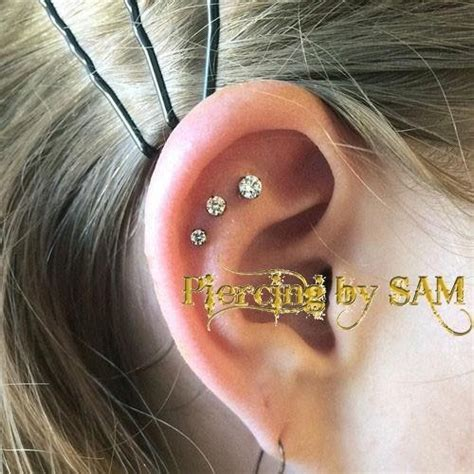 piercing oreille tragus tunnel