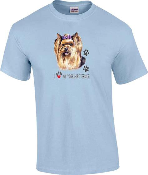 new yorkie shirt i my terrier yorkie t shirt ebay
