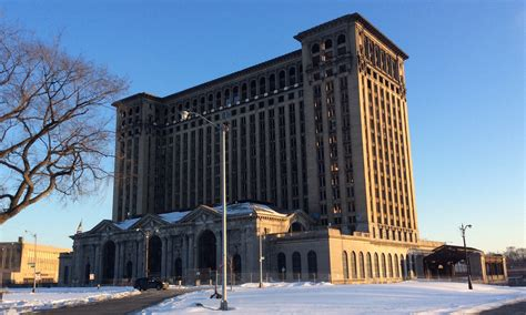 Arbor Building Plans michigan central station to get more than 1 000 new windows